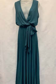 Petit Pois by Viviana G. WAIST V-NECK LONG DRESS - Product Mini Image