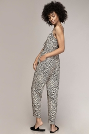 Naked Zebra Waisted Cheetah Jumpsuit - Side cropped