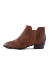 Seychelles Waiting For You Leather Bootie - Front cropped