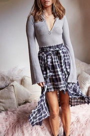 Somedays Lovin Wake Plaid Skirt - Product Mini Image