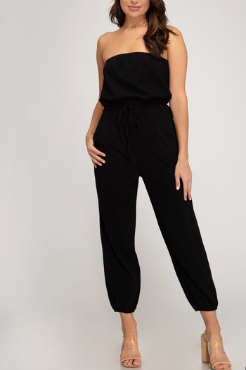 She + Sky Walk This Way Jumpsuit from Mississippi by Exit 16 - Diamondhead — Shoptiques