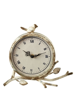 Walker's Bird Nest Desk Clock - Alternate List Image