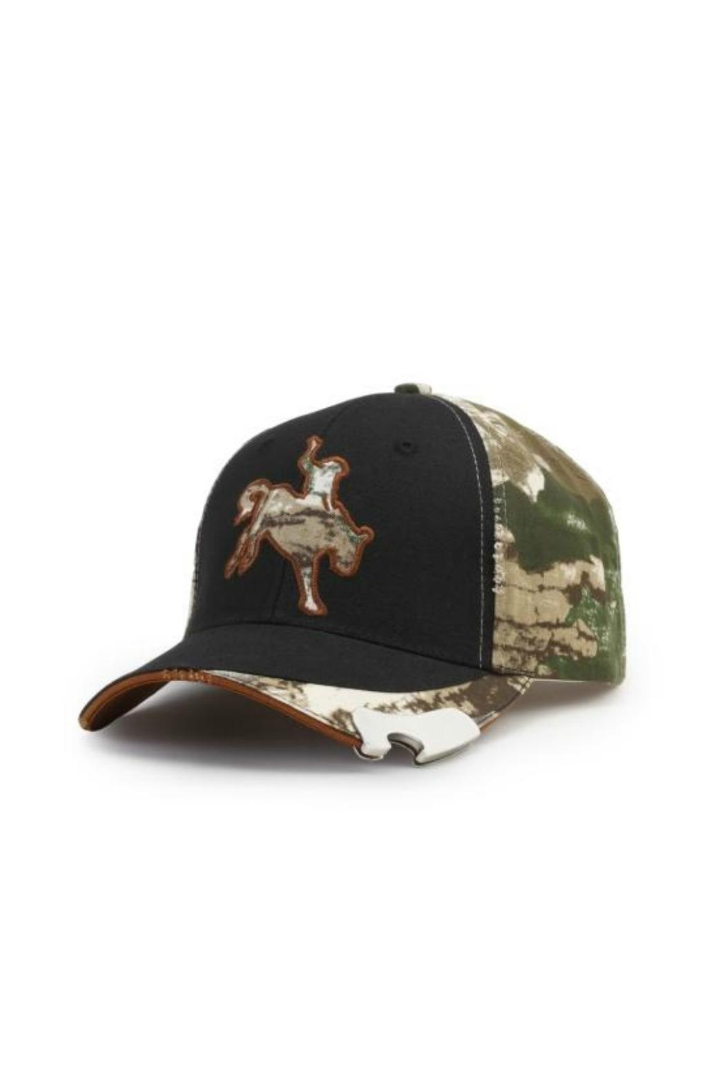 Walker's Bucking Horse Cap - Front Cropped Image