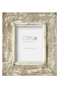 Shoptiques Product: Distressed Wooden Frame