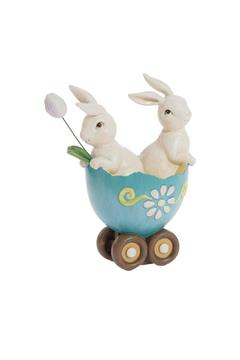 Shoptiques Product: Egg Cart Bunnies