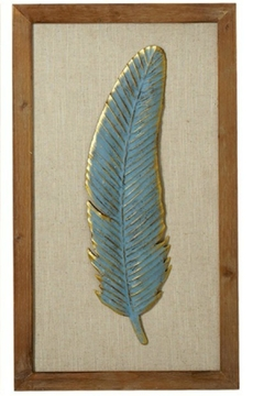 Shoptiques Product: Feather Wall Decor
