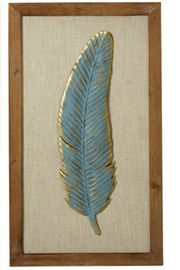 Walker's Feather Wall Decor - Product Mini Image