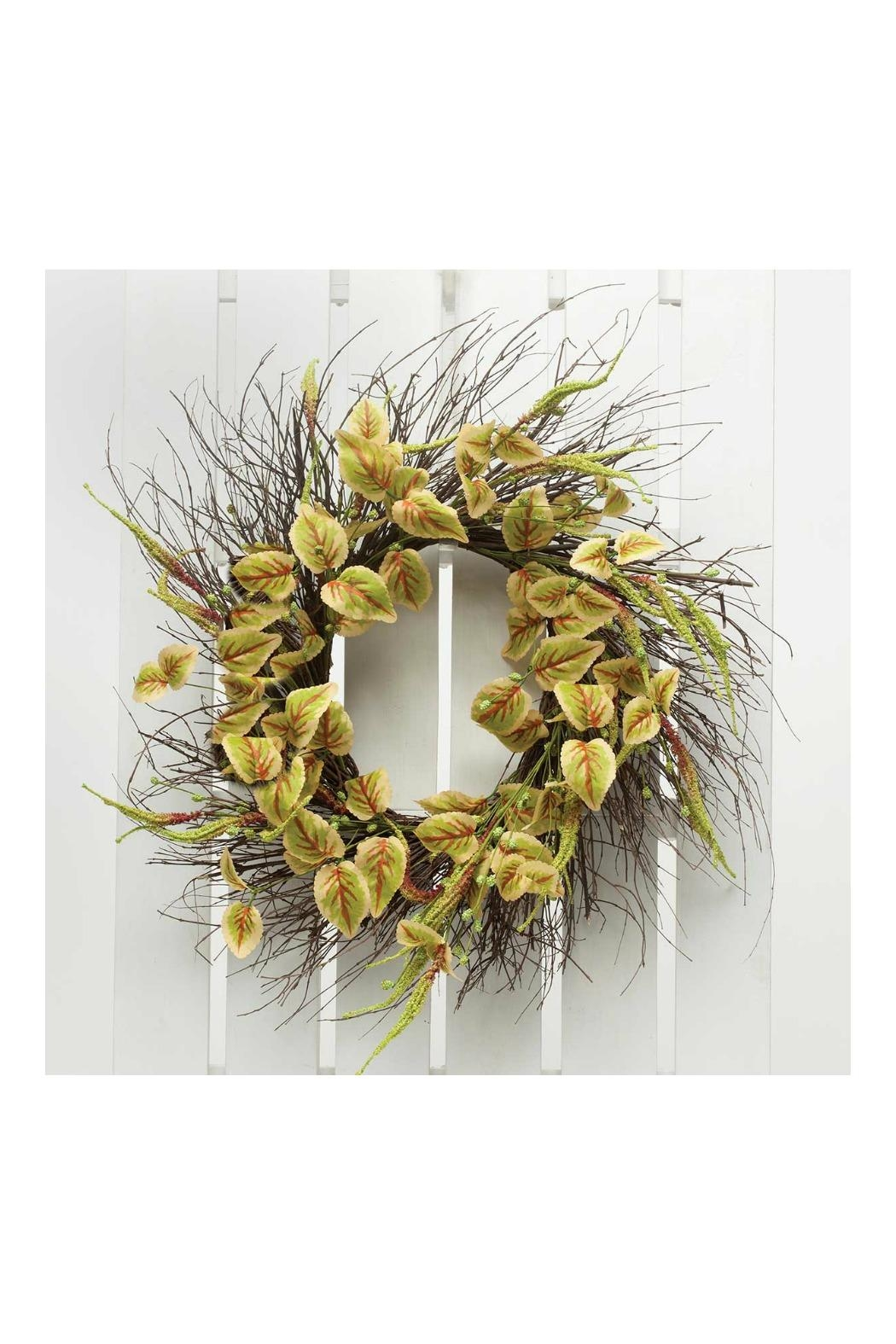 Walker's Meadow Coleus Wreath - Front Cropped Image