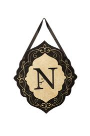 Walker's N Burlap Doorhanger - Product Mini Image