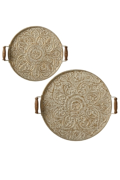 Shoptiques Product: Round Wall Decor Set