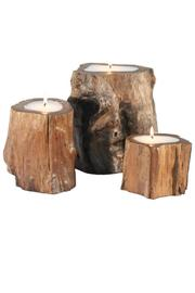 Walker's Teak Wood Candles - Product Mini Image