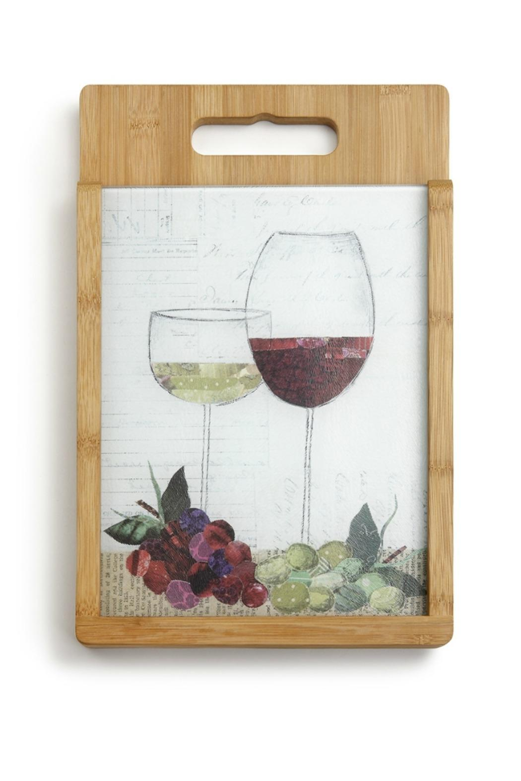 Walker's Wine Glasses Cutting Board - Front Cropped Image
