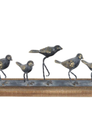 Foreside Home & Garden Walking Birds Table Art - Front cropped