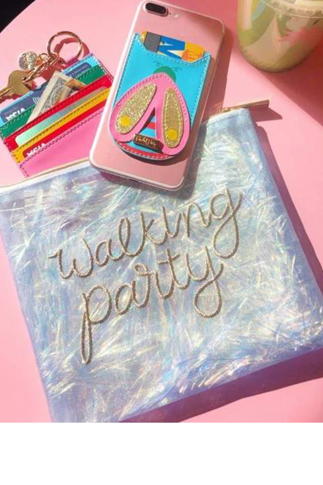 Packed Party Walking Party Pouch - Front Full Image