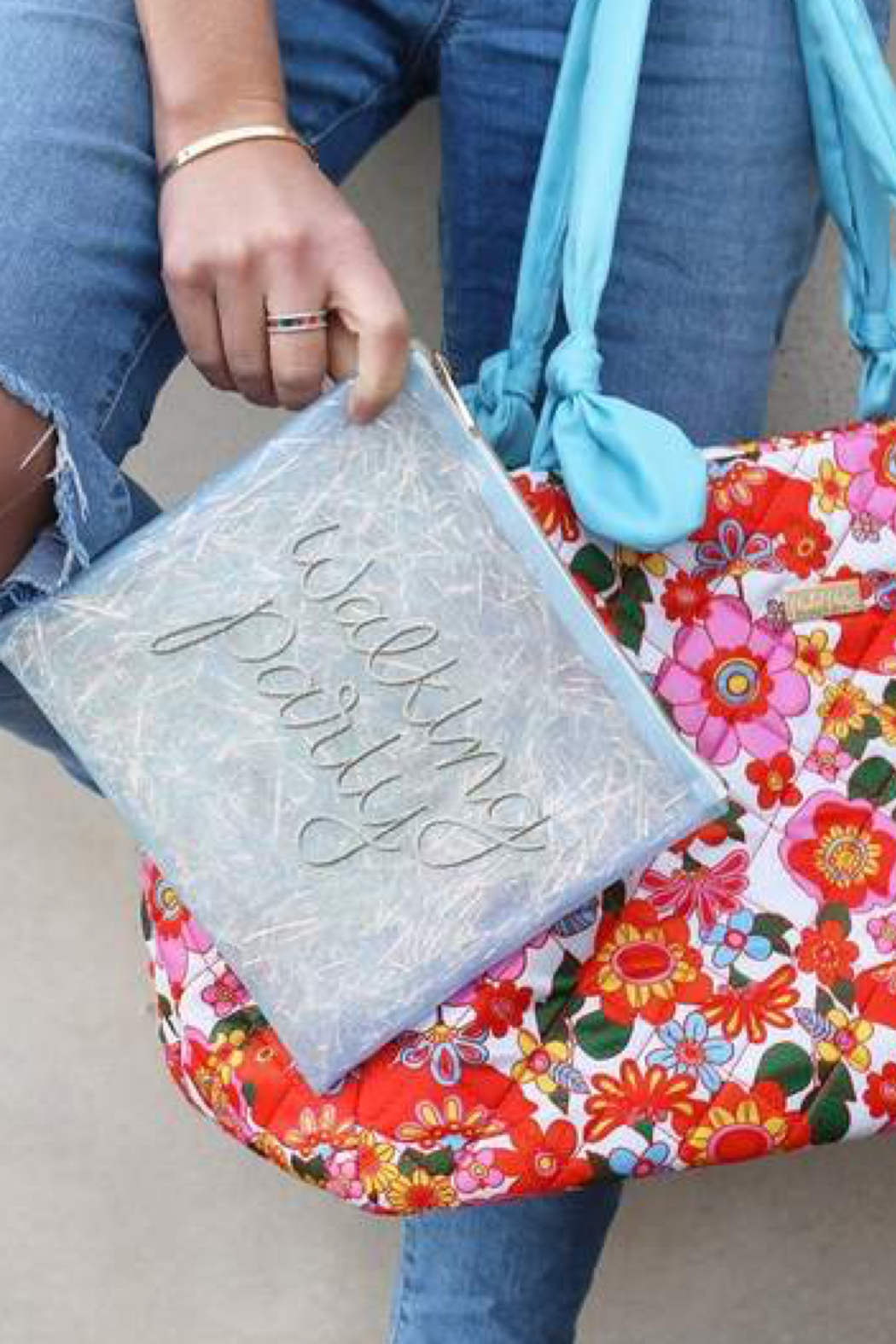 Packed Party Walking Party Pouch - Back Cropped Image