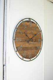 Kalalou WALL CLOCK - Product Mini Image