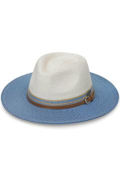 Shoptiques Product: Kristy Ice Blue Fedora Hat