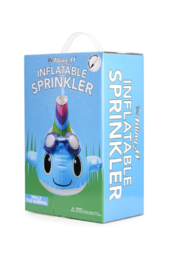Bling2o Wally the Narwhal Sprinkler - Alternate List Image