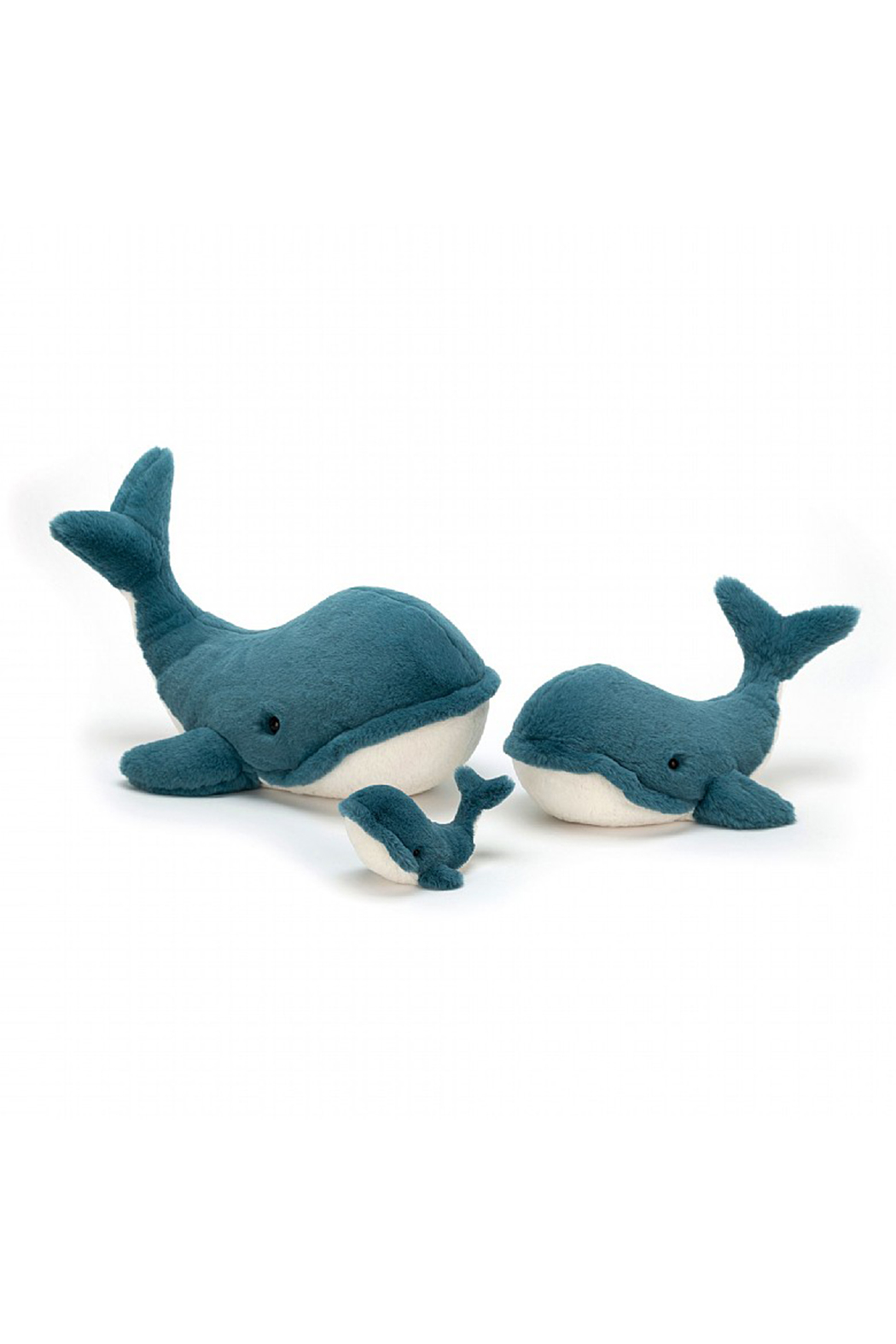 Jellycat Wally Whale Small - Front Full Image