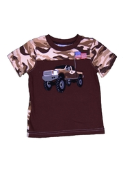 Wally & Willie Truck Printed Tee - Product Mini Image