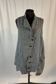 Cynthia Ashby Walter Button Vest - Product Mini Image