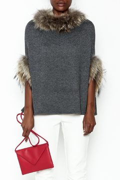 Shoptiques Product: Walter Fur Lined Poncho