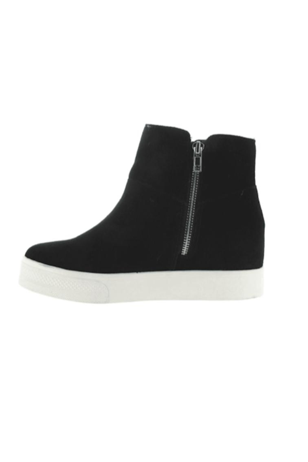 Steve Madden Wanda Suede Sneakers - Front Cropped Image