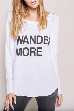Shoptiques Product: Wander More Thermal