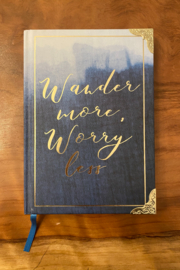 tesoro  Wander Worry Journal - Product Mini Image