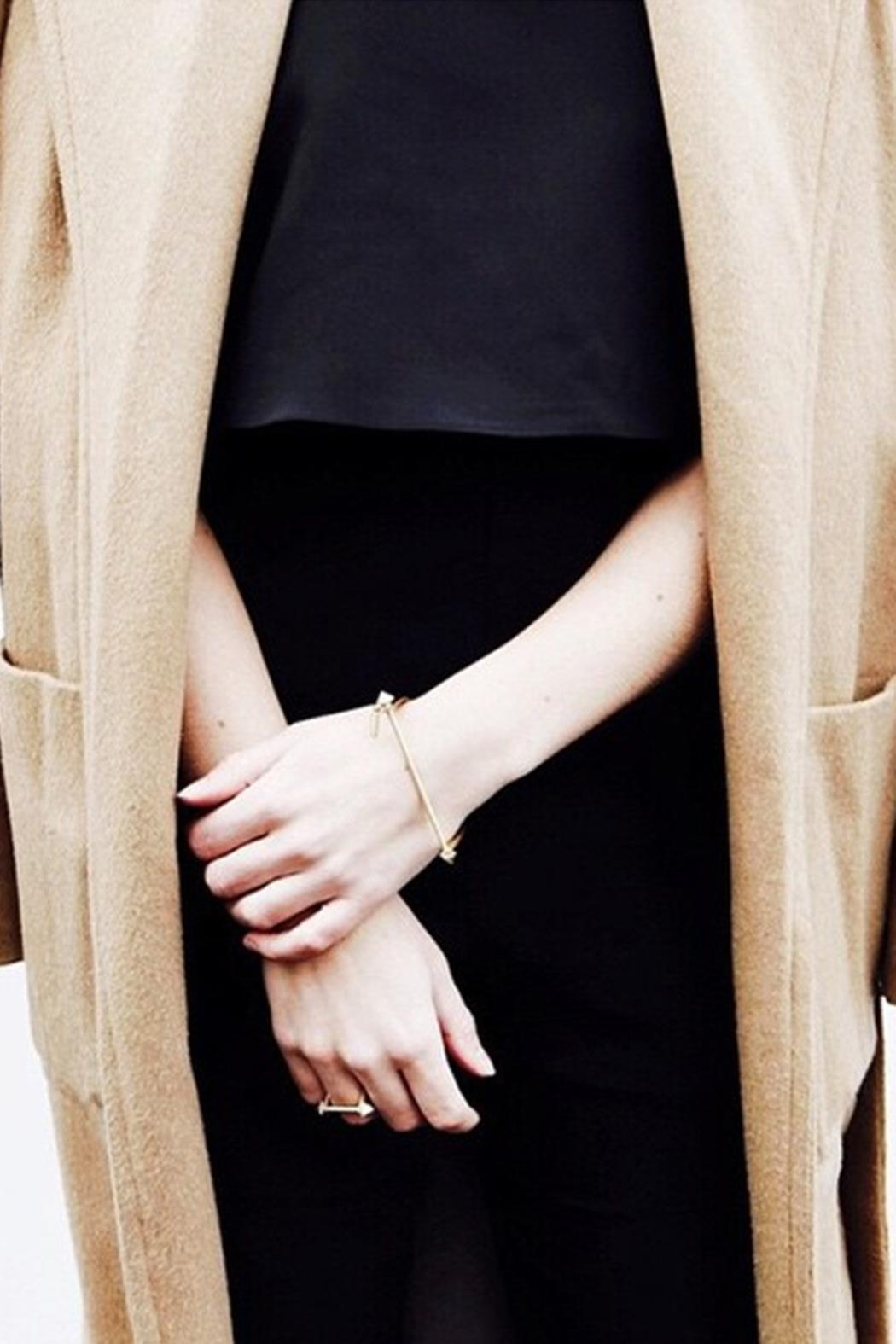 Wanderluster Astralagus Curve Ring - Front Full Image