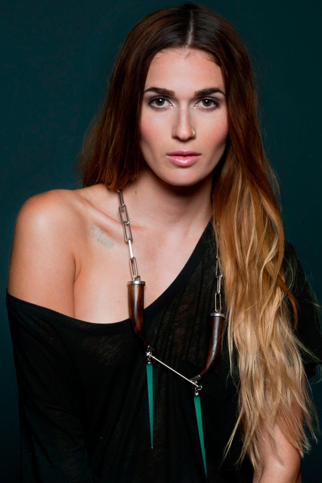 Wanderluster Badwater Necklace - Front Full Image