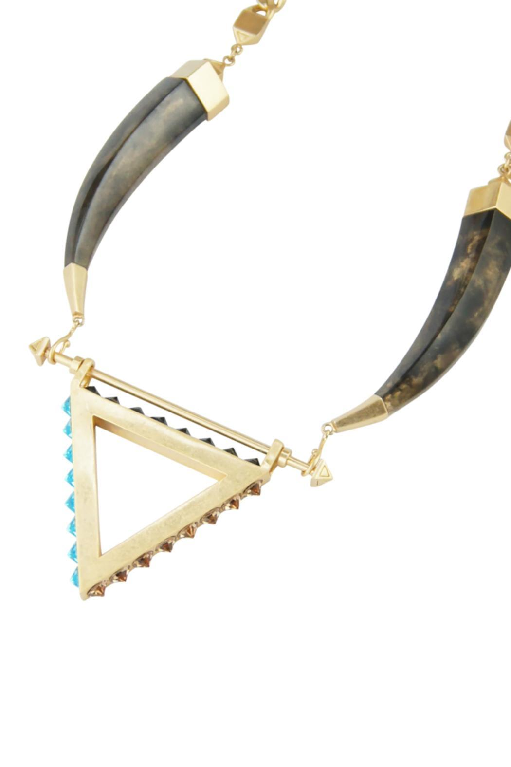 Wanderluster Cananga Necklace - Side Cropped Image