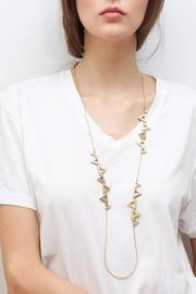 Wanderluster Canna Necklace - Front full body