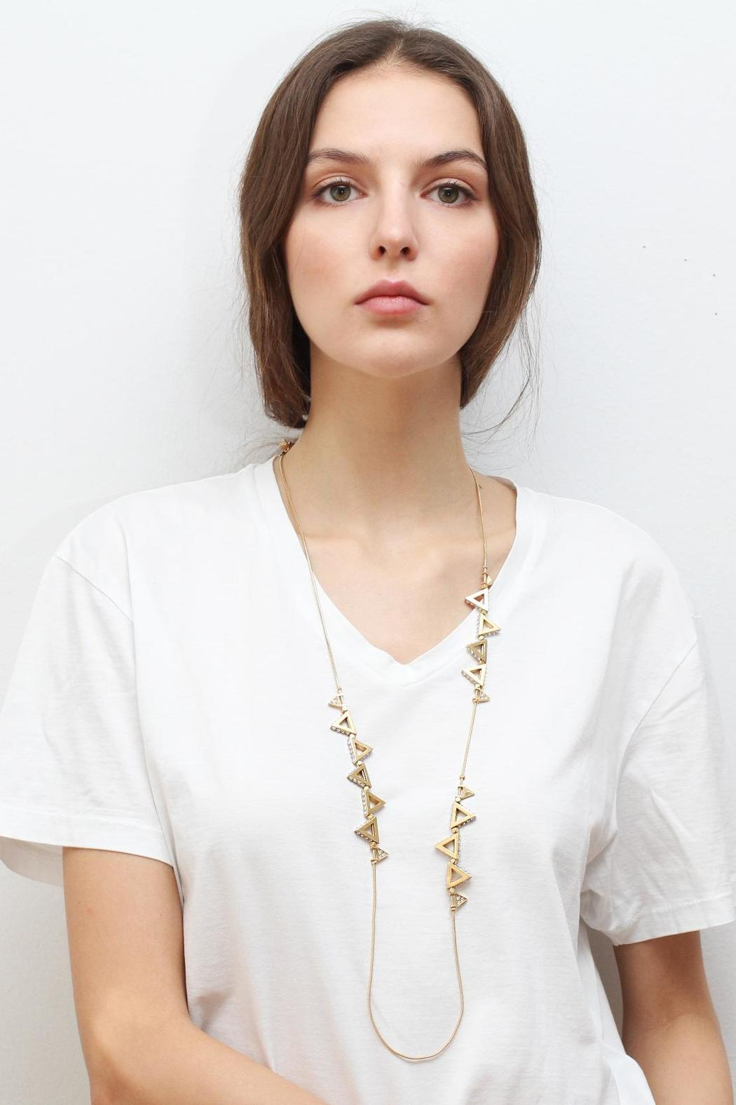 Wanderluster Canna Necklace - Front Cropped Image