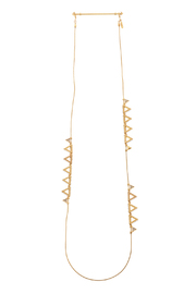 Wanderluster Canna Necklace - Front cropped