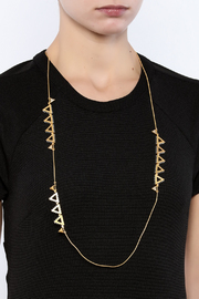 Wanderluster Canna Necklace - Back cropped