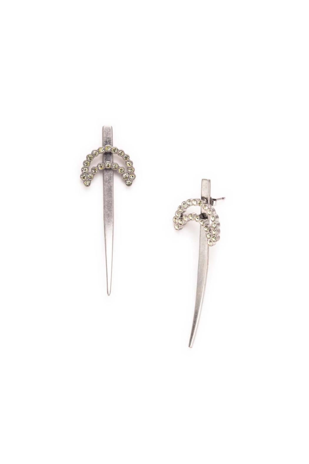 Wanderluster Freia Blade Earrings - Front Cropped Image