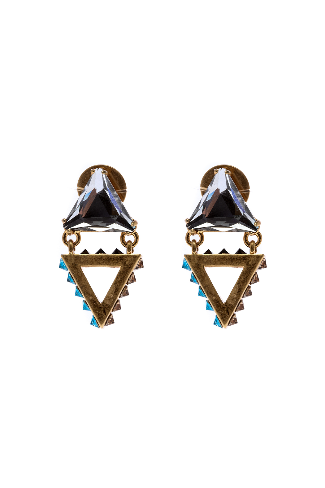 Wanderluster Gardenia Earring - Front Cropped Image