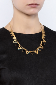 Wanderluster Gardenia Necklace - Back cropped