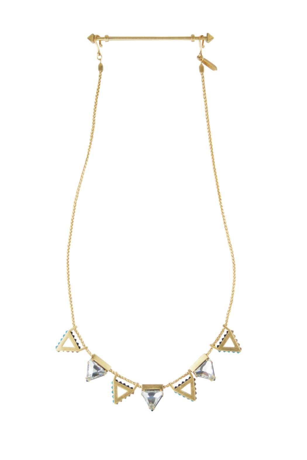 Wanderluster Heliconia Necklace - Back Cropped Image