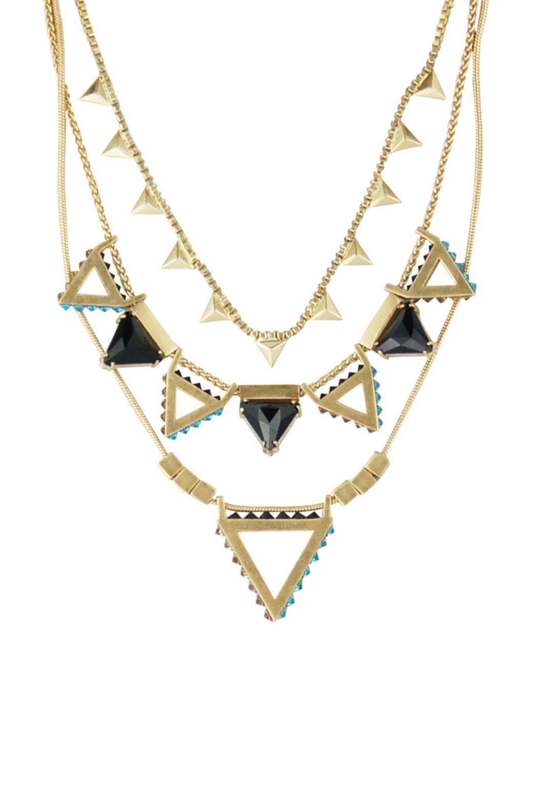 Wanderluster Heliconia Necklace - Front Full Image
