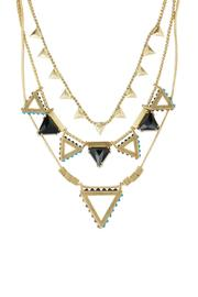 Wanderluster Heliconia Necklace - Front full body