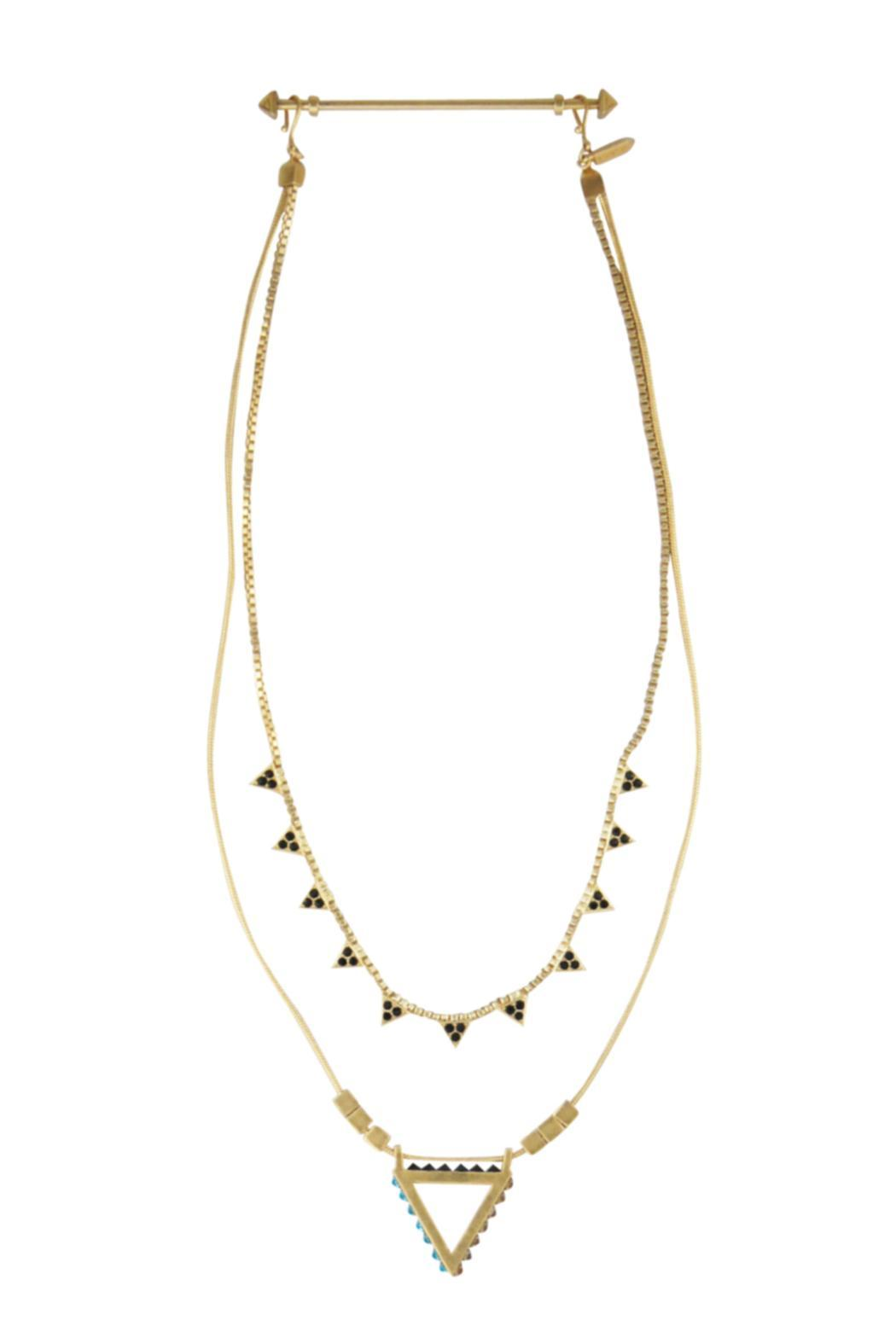 Wanderluster Heliconia Necklace - Side Cropped Image
