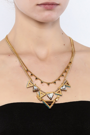 Wanderluster Heliconia Necklace - Back cropped
