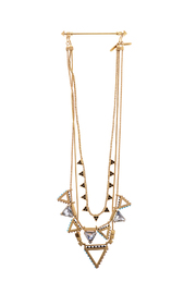 Wanderluster Heliconia Necklace - Front cropped