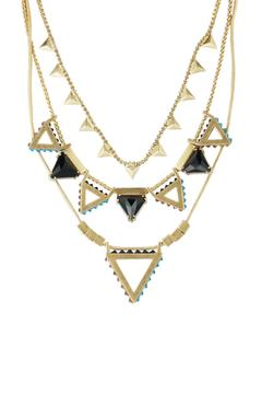 Wanderluster Heliconia Necklace - Alternate List Image
