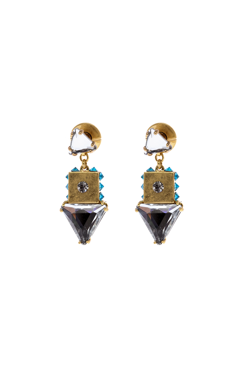 Wanderluster Lantana Earring - Front Cropped Image