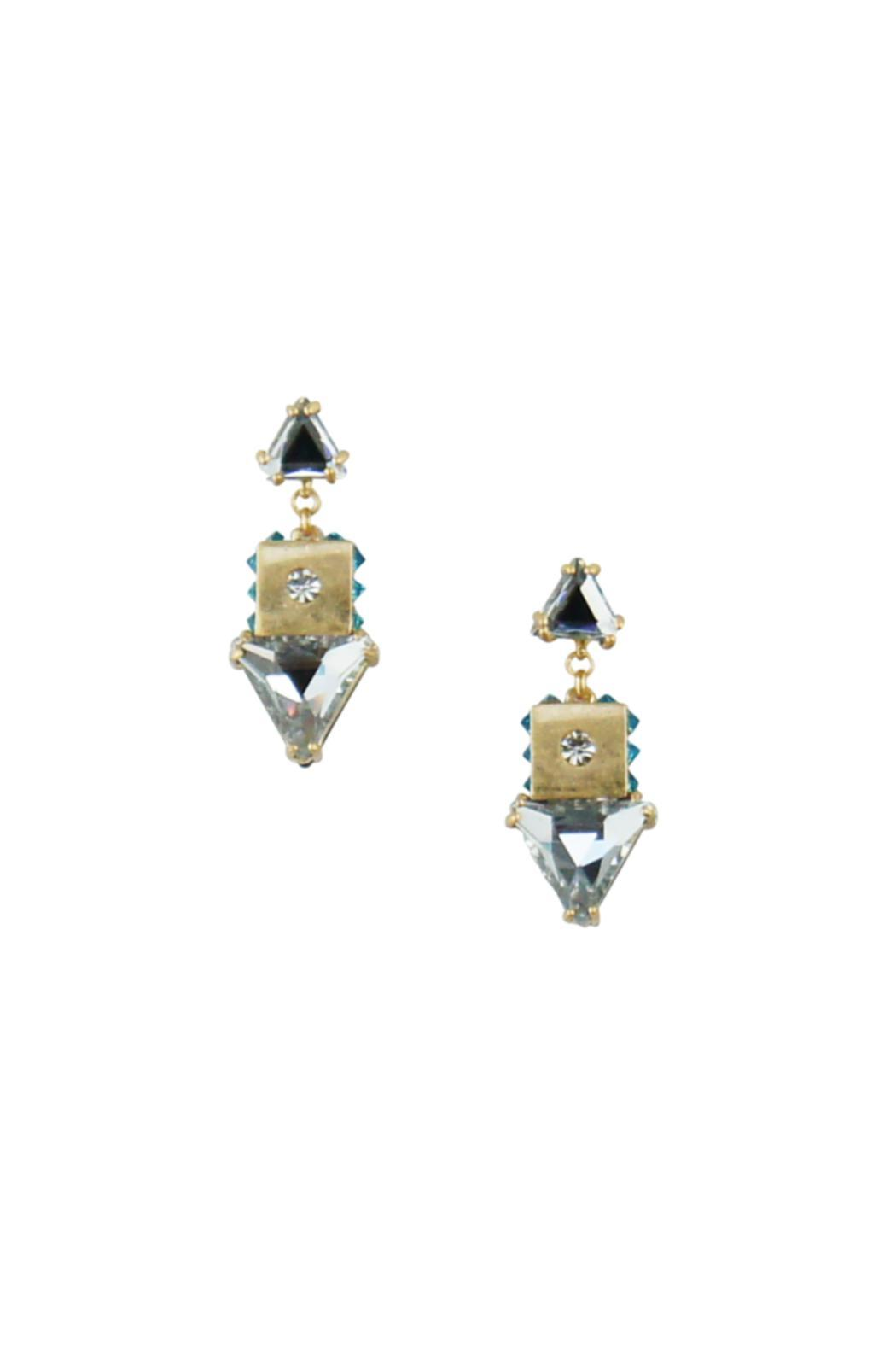 Wanderluster Lantana Earrings - Front Cropped Image