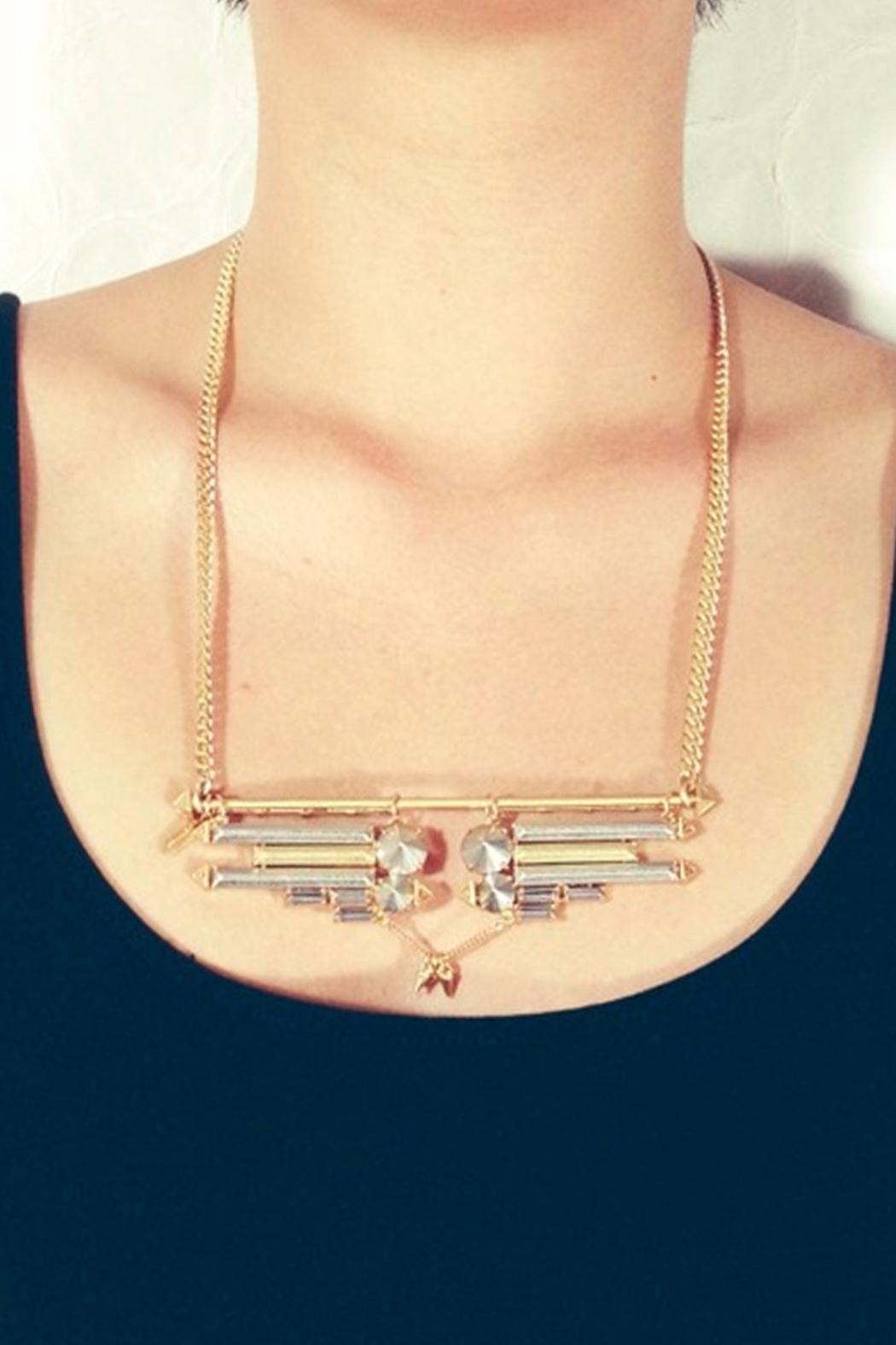 Wanderluster Rosemoon Necklace - Front Full Image