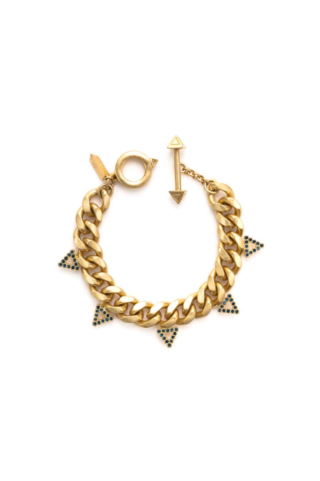 Wanderluster Selma Chain Bracelet - Front Cropped Image